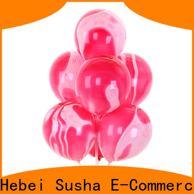 Bulk purchase high quality latex helium balloons China factory for birthday parties