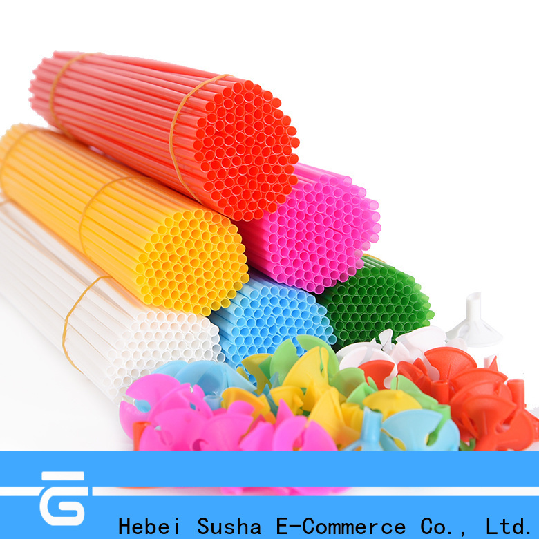 Susha Wholesale pom pom balloon weights factory price for birthday