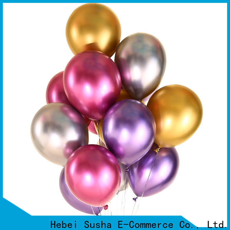 Susha printed latex balloons manufacture for birthday parties
