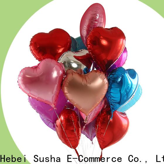 Susha matte balloons factory for anniversaries