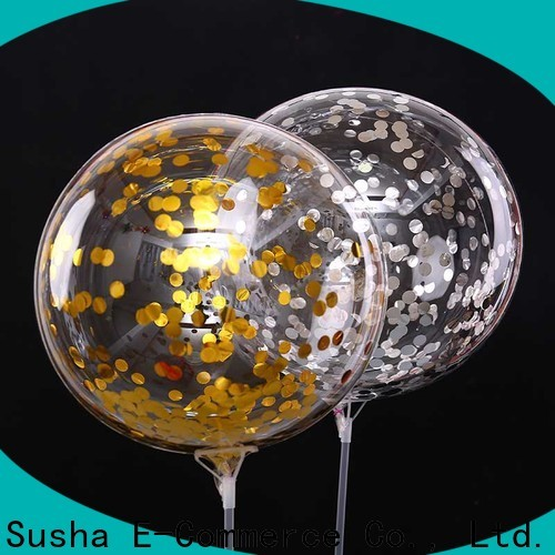 Wholesale best latex confetti balloons Supply for birthday parties
