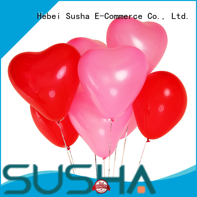 Susha transparent party balloons China factory for birthday parties