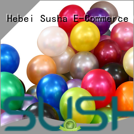 party balloons China factory for wedding Susha