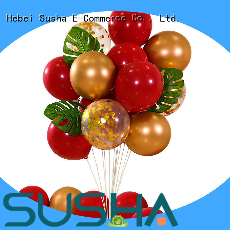 transparent confetti balloons manufacturer for birthday parties