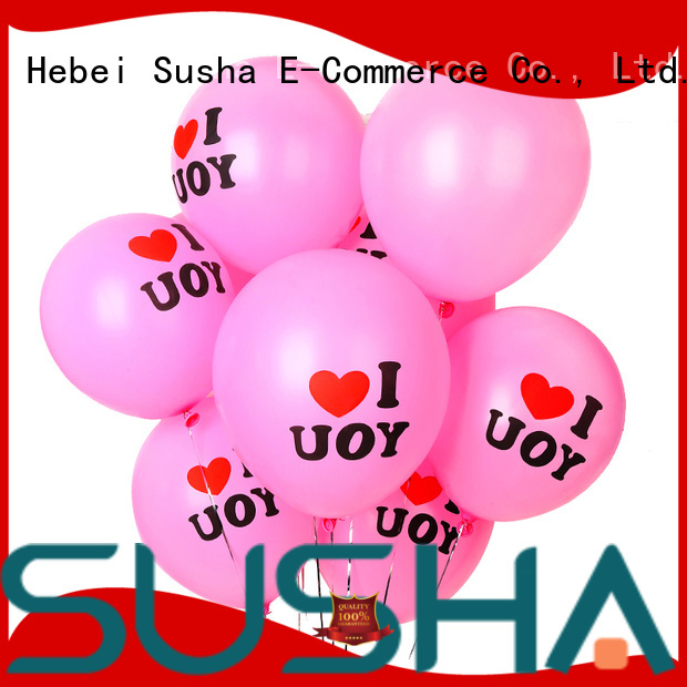 Susha 18 inches party balloons manufacturer for birthday parties