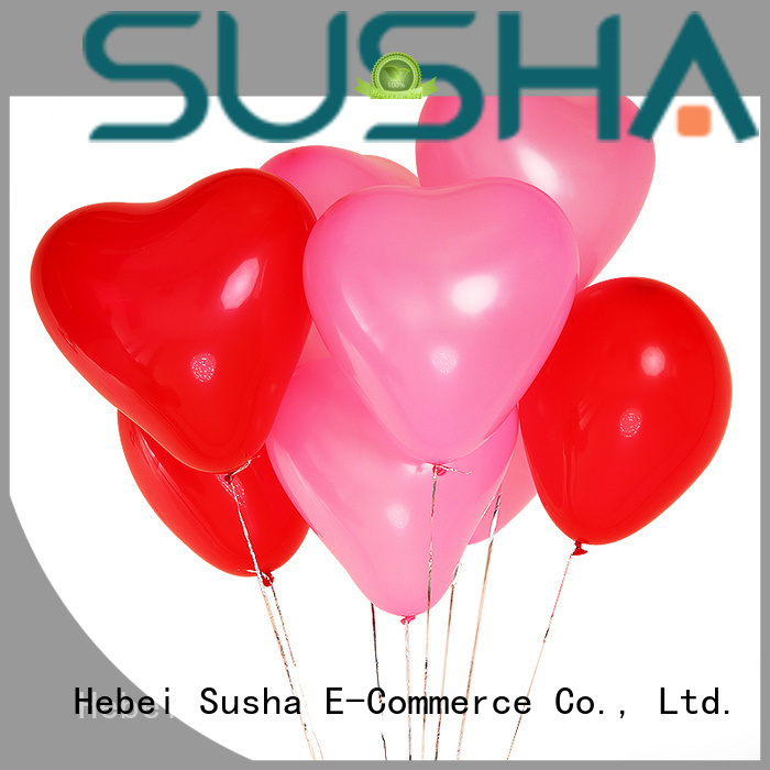 Susha 18 inches wedding balloons manufacturer for celebration activities