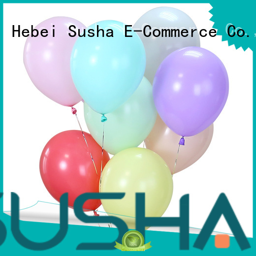 latex balloons manufacturer for birthday parties Susha