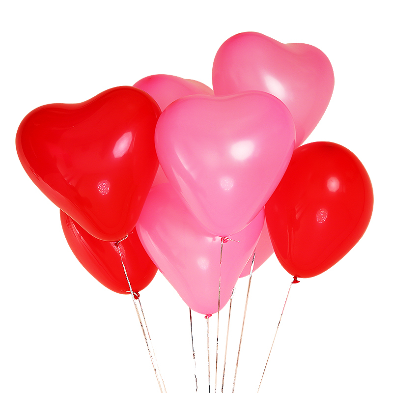 Heart Balloons Anniversary Balloons