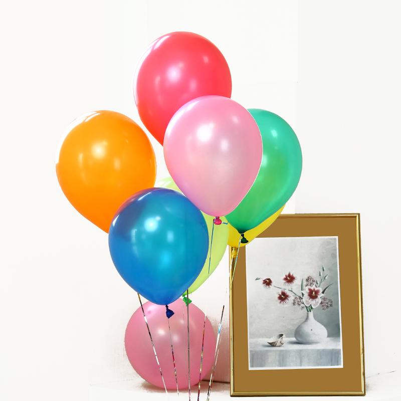 Susha peacock latex balloons China factory for birthday parties-1