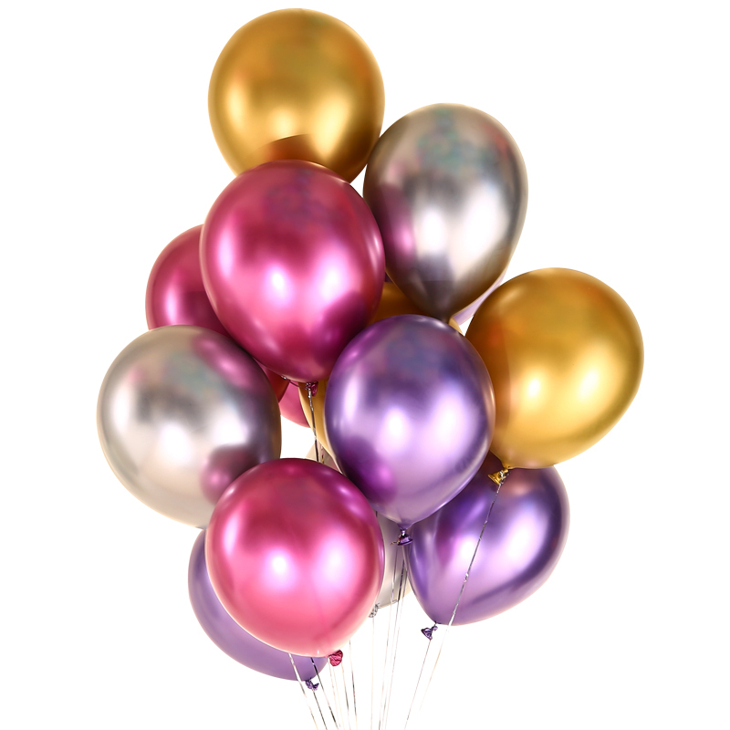 Metallic Latex Balloons