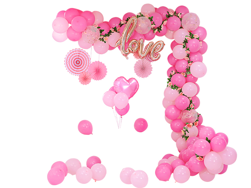 5 meters balloon chain wedding room scene layout wedding decoration creative wedding supplies chain balloon strip