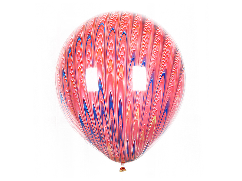 Peacock balloon