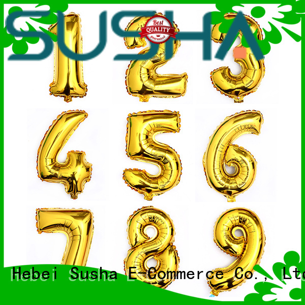 Susha heart foil balloons wholesale for anniversaries