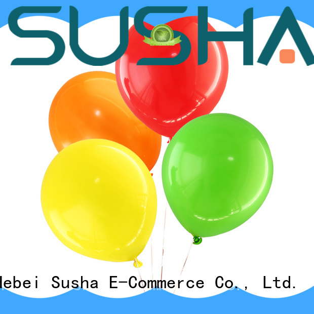 Susha heart-shaped party balloons manufacturer for birthday parties