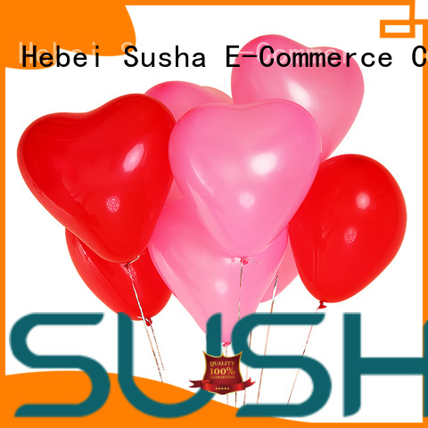 Susha romantic latex balloons manufacturer for celebration activities