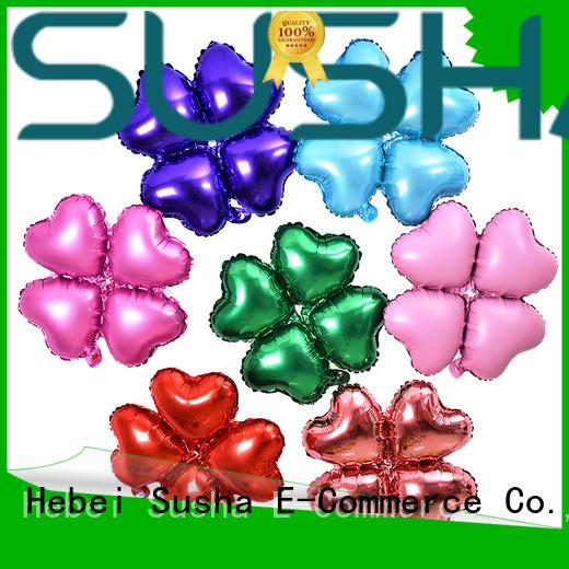 Susha number foil balloons online for proposal