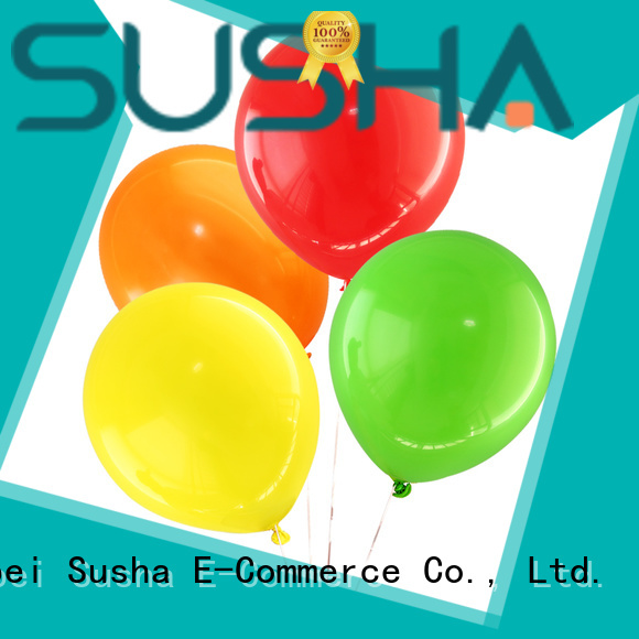 Susha confetti balloons manufacturer for wedding