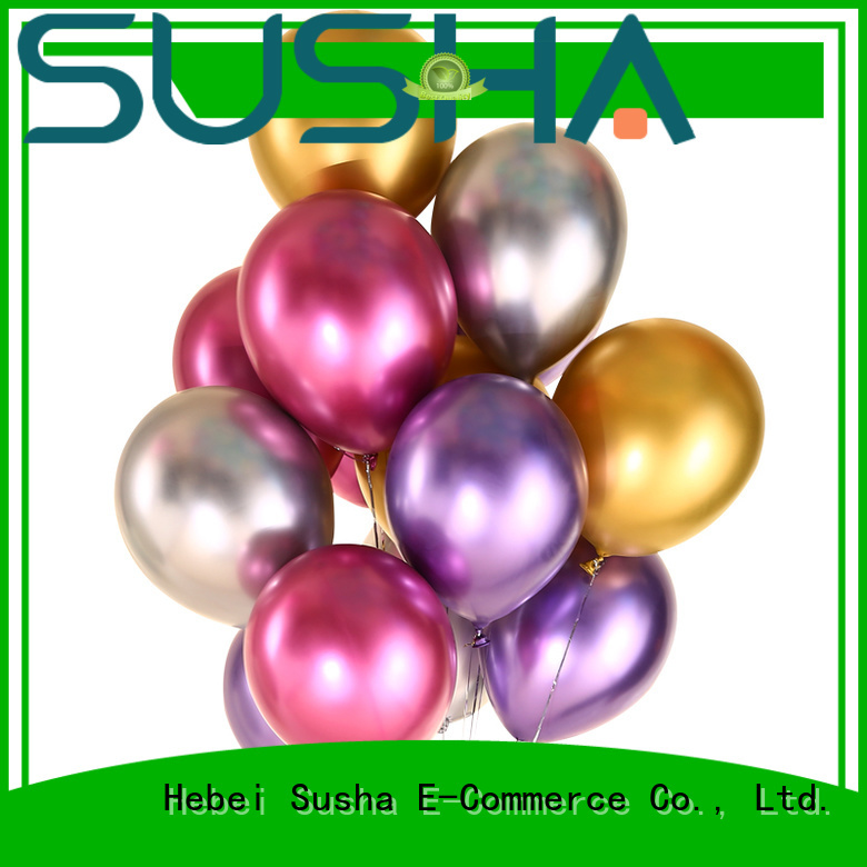 Susha transparent heart shaped balloons for celebration activities