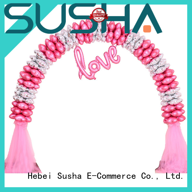 Susha balloon accessories customization for wedding