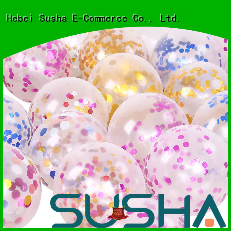 Susha wedding balloons China factory for birthday parties
