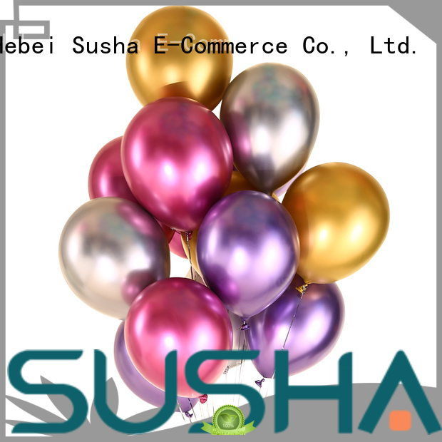 Susha romantic confetti balloons manufacturer for celebration activities