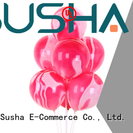 Susha peacock confetti balloons China factory for wedding