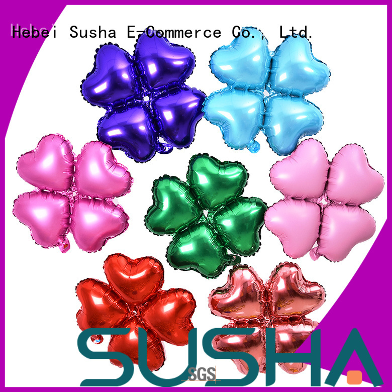 Susha clover foil balloons buy now for birthday