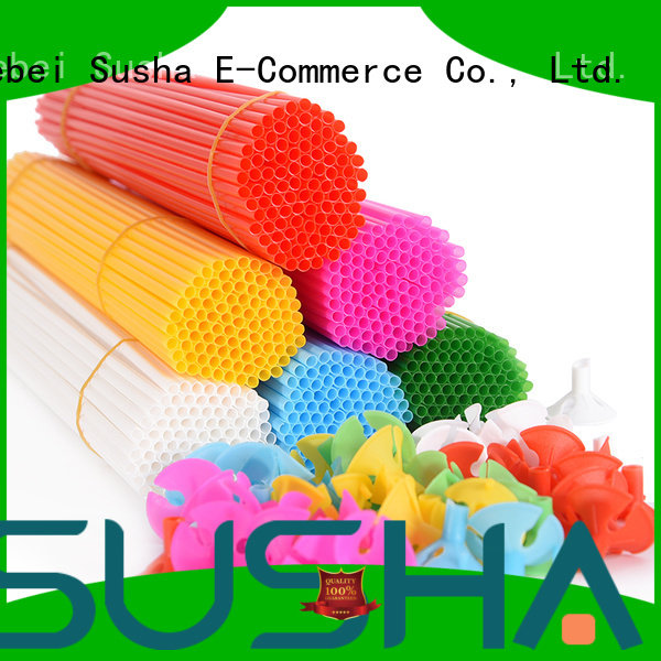 Susha hand push balloon accessories customization for birthday