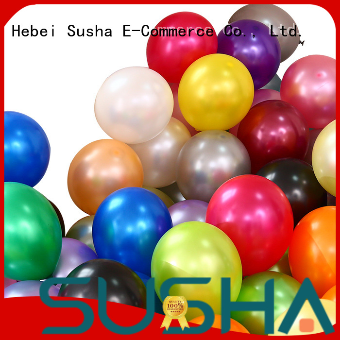 Susha wedding balloons China factory for wedding