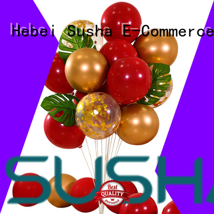 Susha romantic latex balloons manufacturer for birthday parties