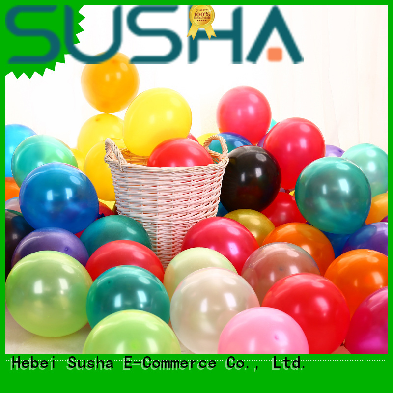 Susha romantic latex balloons China factory for celebration activities