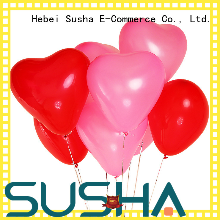 Susha 18 inches confetti balloons China factory for wedding