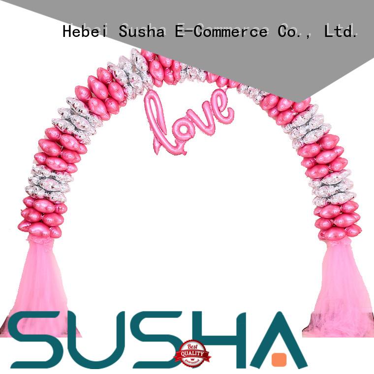 Susha accessories electric balloon pump customization for birthday
