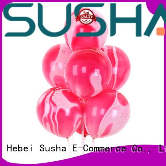 Susha heart-shaped party balloons China factory for birthday parties