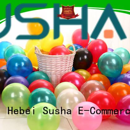 Susha transparent confetti balloons manufacturer for wedding
