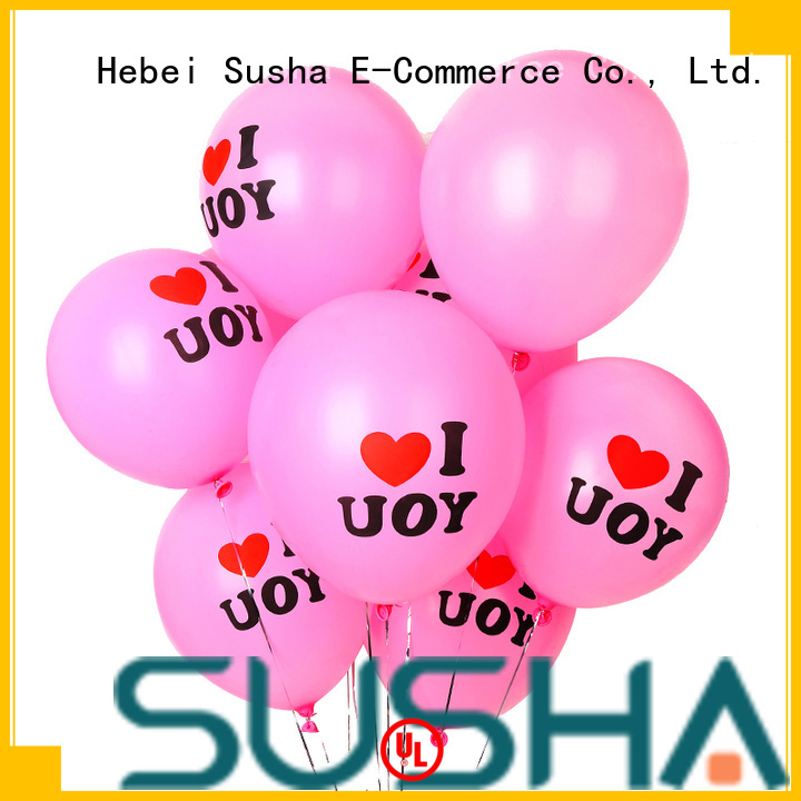 Susha peacock wedding balloons China factory for birthday parties