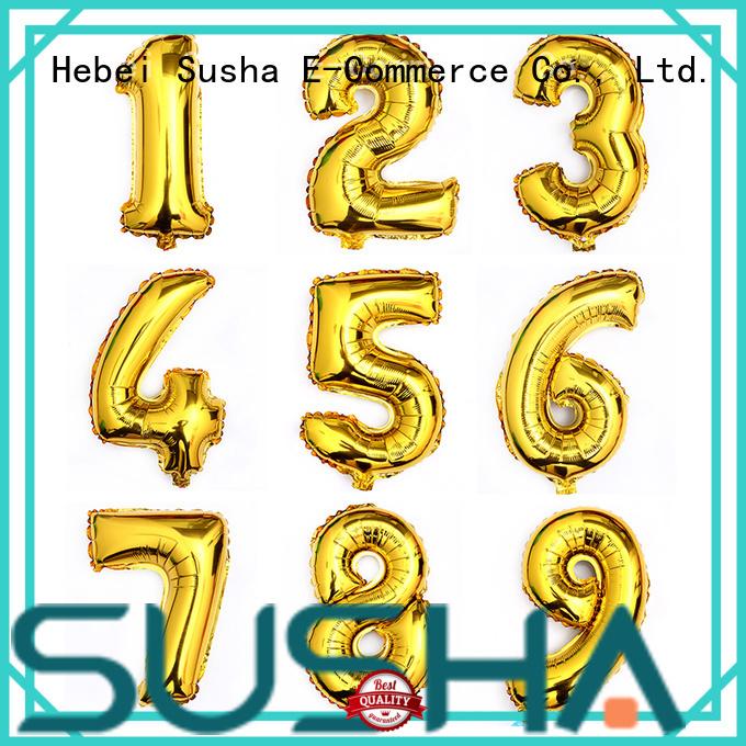 clover foil balloons manufacturer for birthday