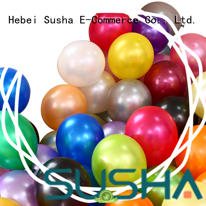 Susha confetti filled balloons manufacturer for celebration activities