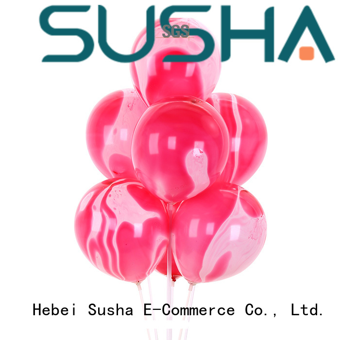 Susha heart-shaped wedding balloons manufacturer for birthday parties