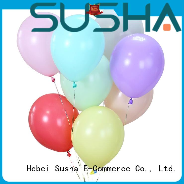 Susha peacock wedding confetti balloons for birthday parties