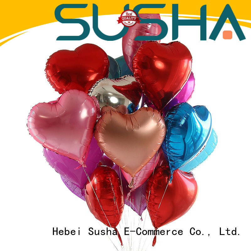 Susha foil number balloons manufacturer for proposal
