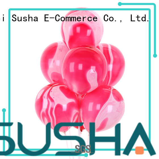 Susha transparent confetti balloons manufacturer for wedding