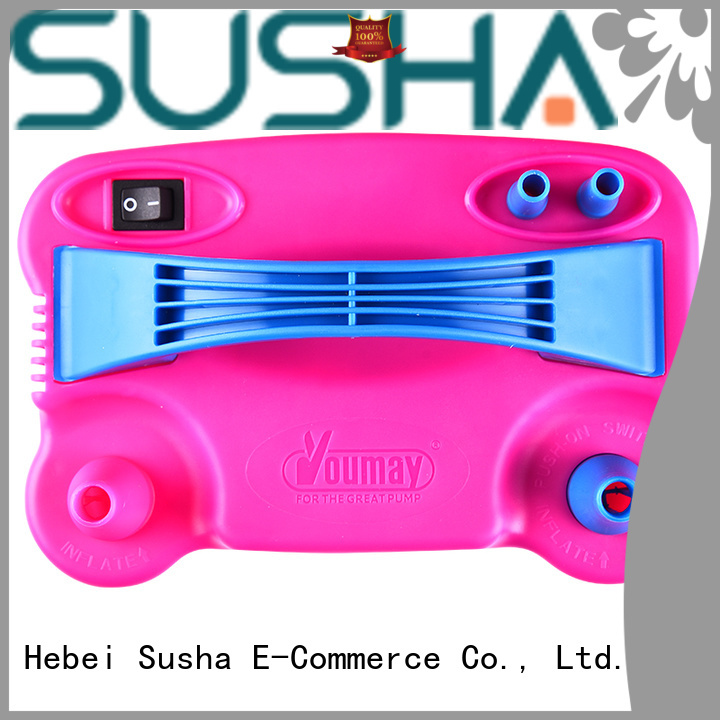 Susha accessories electric balloon pump customization for wedding