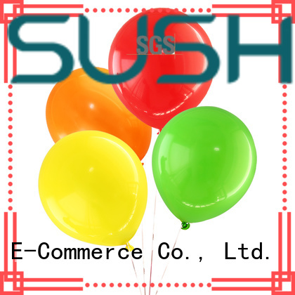 Susha transparent party balloons manufacturer for celebration activities