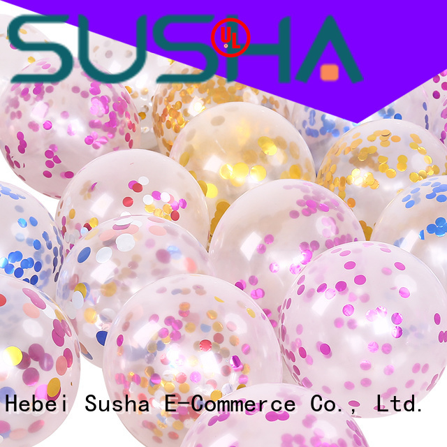 Susha peacock party balloons China factory for celebration activities
