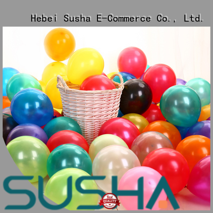 Susha romantic party balloons China factory for celebration activities