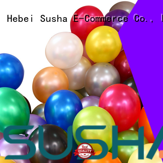 Susha confetti party balloons China factory for birthday parties