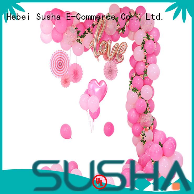Susha electric balloon pump customization for celebration activities