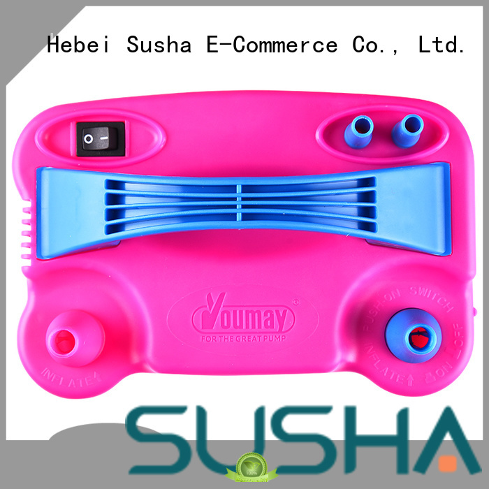 Susha hand push electric balloon pump factory price for celebration activities