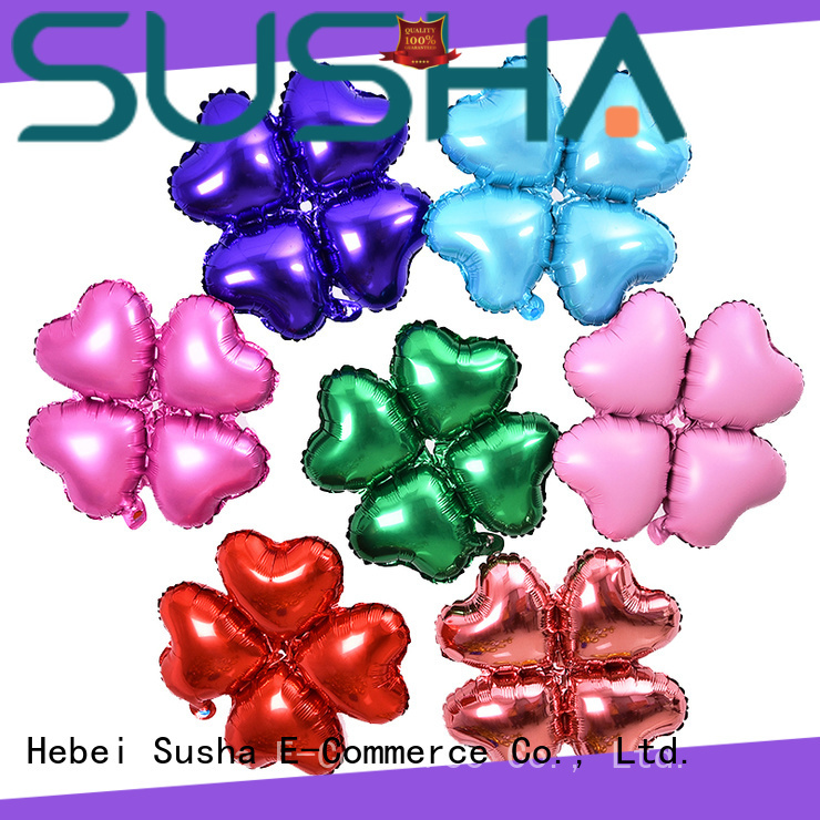 Susha foil number balloons manufacturer for anniversaries